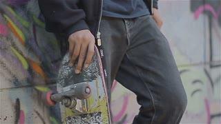 Young skater and graffiti 3