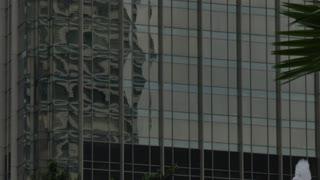 Architecture close-up, Kuala Lumpur City Centre Park, Kuala Lumpur, Malaysia, South East Asia, Asia