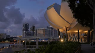 Art and Science Museum & Central Business District, Marina Bay, Singapore, South Asia