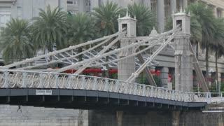 Cavenagh Bridge, Boat Quay, Singapore, South Asia