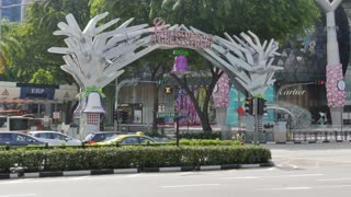 Christmas Decorations on Orchard Road, Singapore, South Asia, Asia