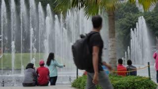 Kuala Lumpur City Centre Park, Kuala Lumpur, Malaysia