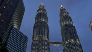 Petronas Towers, Kuala Lumpur City Centre Park, Kuala Lumpur, Malaysia