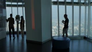 Petronas Towers viewing level, Kuala Lumpur City Centre Park, Kuala Lumpur, Malaysia