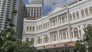 Raffles Hotel, Singapore, South Asia, Asia