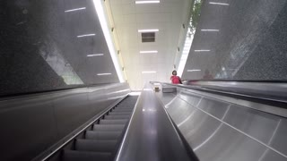 Shopping Mall elevator, Singapore, South Asia
