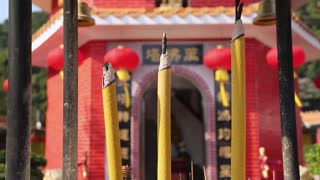 TenThousand Buddhas Temple, Shatin, New Territories, Hong Kong, China