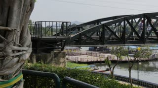 Bridge over River Kwai, Kanchanaburi, Thailand, Southeast Asia, Asia