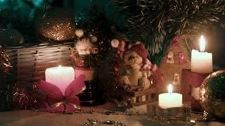 Christmas decoration, bears balls