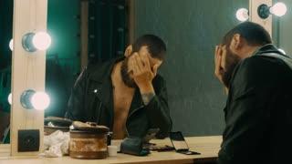 Cutting Cocaine on Mirror Stock Video Footage - Storyblocks Video