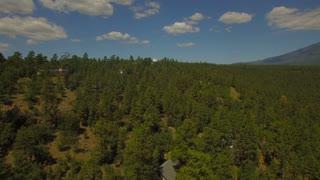 Aerial Arizona Flagstaff 4k Aerial video of Flagstaff. Small town in Arizona.