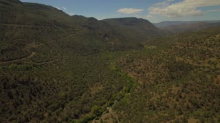 Aerial Arizona Fossil Creek September 2016 4K Aerial video of Fossil Creek area in Arizona