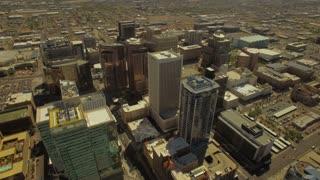 Aerial Arizona Phoenix 4K Aerial video of Phoenix Arizona.