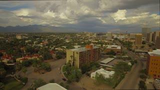 Aerial Arizona Tucson September 2016 4K Aerial video of Tucson in Arizona.