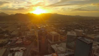 Aerial Arizona Tucson September 2016 4K Aerial video of Tucson in Arizona.