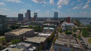 Aerial Arkansas Little Rock September 2016 4K Aerial video of Little Rock in Arkansas.