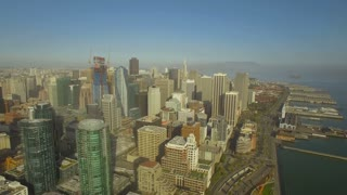 Aerial California San Francisco September 2016 4K Aerial video of San Francisco California.