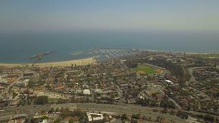 Aerial California Santa Barbara September 2016 4K Aerial video of Santa Barbara in California.