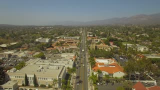 Aerial California Santa Barbara September 2016 4K Aerial video of Santa Barbara in California.