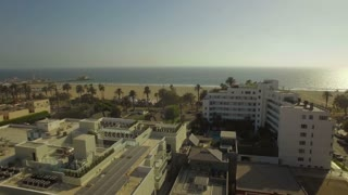 Aerial California Santa Monica LA September 2016 4K Aerial video of Santa Monica in LA California.