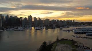 Aerial Canada Vancouver BC