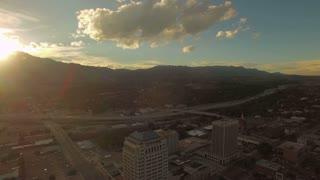 Aerial Colorado Colorado Springs September 2016 4K