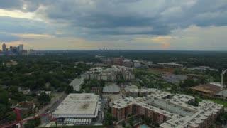 Aerial Georgia Atlanta September 2016 4K