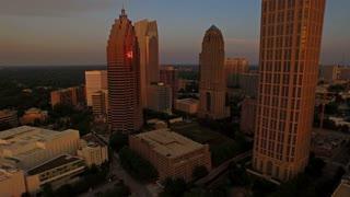 Aerial Georgia Atlanta