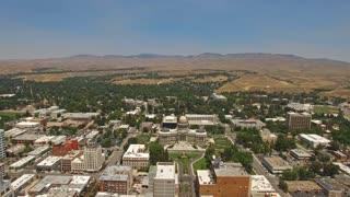 Aerial Idaho Boise