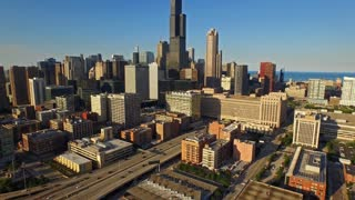 Aerial Illinois Chicago