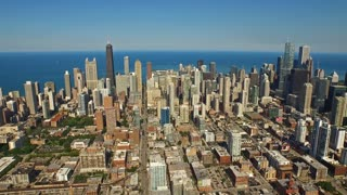 Aerial Illinois Chicago