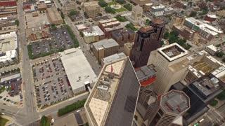 Aerial Indiana Indianapolis