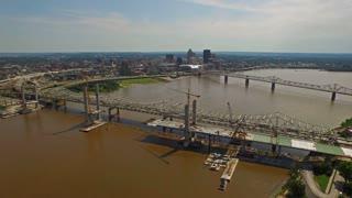 Aerial Kentucky Louisville