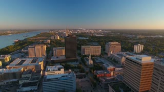 Aerial Louisiana Baton Rouge September 2016 4K