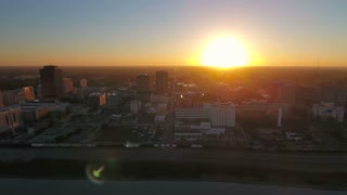 Aerial Louisiana Baton Rouge September 2016 4K