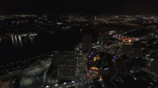 Aerial Louisiana New Orleans September 2016 4K