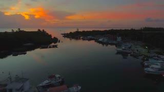 Aerial Mexico Cozumel September 2016 4K