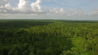 Aerial Mississippi Countryside