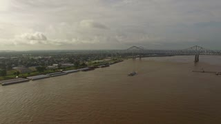 Aerial Mississippi New Orleans