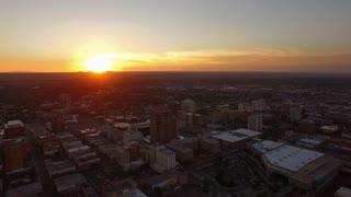 Aerial New Mexico Albuquerque