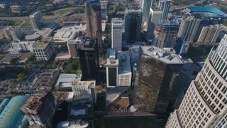 Aerial North Carolina Charlotte September 2016 4K