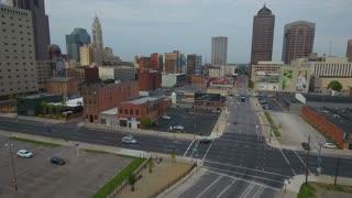 Aerial Ohio Columbus September 2016 4K