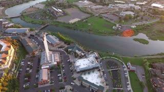 Aerial Oregon Bend Oldmill District
