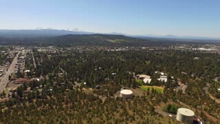 Aerial Oregon Bend Pilot Butte