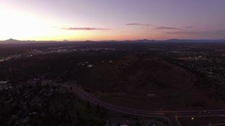 Aerial Oregon Bend Pilot Butte