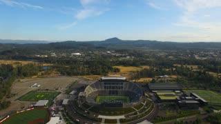 Aerial Oregon Eugene