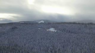 Aerial Oregon Mt Hood
