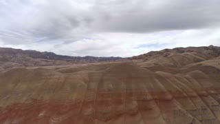 Aerial Oregon Painted Hills