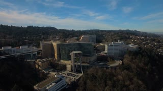 Aerial Oregon Portland OHSU