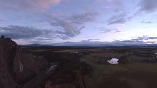 Aerial Oregon Smith Rock